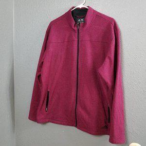 Adidas Mens Size XL Jacket Golf Full Zip